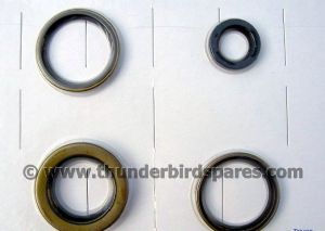 Oil Seal Set,Engine & Gearbox,Triumph T20 Cub,1956 on